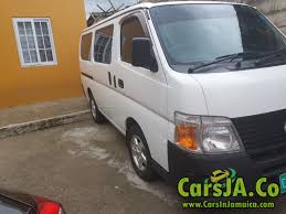 nissan caravan 2013 nissan caravan 2011 for sale in jamaica
