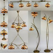 Moderne Lampen Wohnzimmer G Stig Stehlampe Jugendstil Im Tiffany Stil