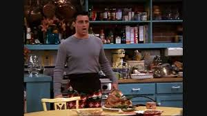 happy thanksgiving gifs friends joey u0027s thanksgiving pants youtube