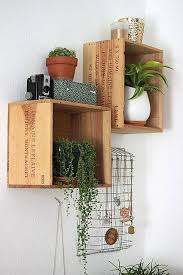 Wood Shelves For Walls Best 10 Unique Wall Shelves Ideas On Pinterest Unique Shelves
