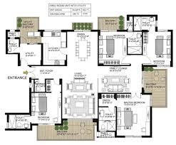 one floor plan alpha gurgaon one floor plan