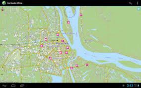 Offline Map Offline Karte Kambodscha U2013 Android Apps Auf Google Play