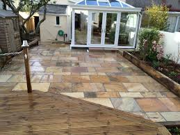 Indian Sandstone Patio by Indian Sandstone Sure Pave Plymouth