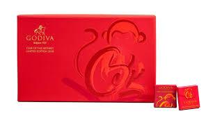 new year box celebrate the year of the monkey with godiva valiram