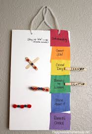 printable color coded behavior chart happiness is homemade