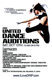 Sample Dance Resume For Audition by Drip Hosts The United Dance Auditions U2014 Drip