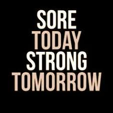Motivational Exercise Memes - motivational what seems hard now quote 8x10 sport poster print gray