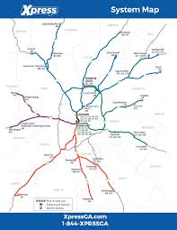 Atlanta Ga Airport Map by Route 430 U2013 Mcdonough To Downtown Xpress