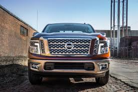 nissan blue truck nissan unveils redesigned 2017 titan with gas v8 coming soon to