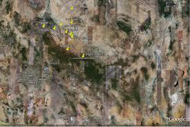 Uofa Map Clone Of University Of Arizona Of Anthropology Fieldschool