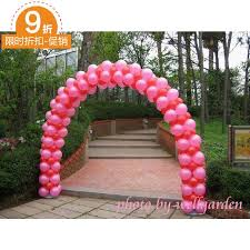 wedding arch balloons wedding props arranged balloon arches demolition wheel arches