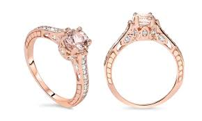 groupon wedding rings morganite ring groupon goods