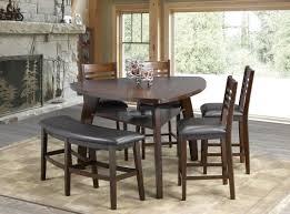 dining room pub tables emery 6 piece pub table set u0026 reviews allmodern