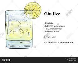 watercolor cocktail hand drawn watercolor cocktail gin image u0026 photo bigstock