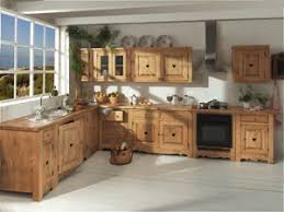 meuble cuisine en pin cuisine de pays bati journal
