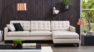 Living Room Furniture Australia Gilbert 3 Seater Leather Lounge With Chaise Lounges Living