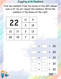 mental maths u2013 grade 1 math worksheets page 10