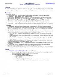 cover letter qa sample resume