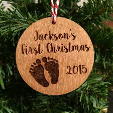 personalized baby s ornament laser engraved or