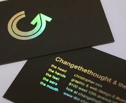 awesome holographic business cards best business card inspiration