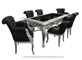 awesome black and silver dining room set stoneislandstore co