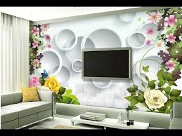 wallpaper design for home interiors wallpaper design for living room home decoration ideas 2018 part 2