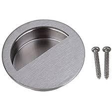 Recessed Cabinet Pull Gobrico 70mm Square Recessed Flush Pull Furniture Door Cabinet