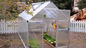 Hobby Greenhouses Palram Mythos 6x6 Or 6x8 Greenhouse Kit Silver Youtube