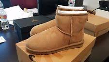 s ugg australia mini leather boots ugg australia leather boots s footwear ebay