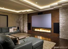 Home Theater Designs Home Design Ideas - Living room with home theater design