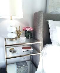 glass side tables for bedroom white side table bedroom tarowing club