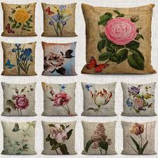 Beautiful Sofa Pillows by Online Get Cheap Cotton Plant Aliexpress Com Alibaba Group