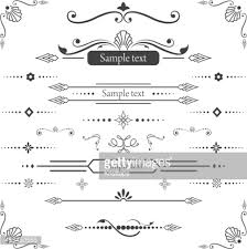 vintage frames and ornaments vector getty images