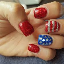 july 4 nail art ideas popsugar beauty