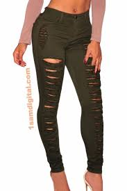 Destroyed High Waisted Jeans Skinny Jeans Denim Destroyed High Waist U2013 1sam Digital