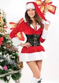 womens santa costume 42 84 womens christmas story with corset santa costume