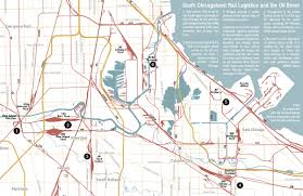 Chicago Community Map by Map Shop Southeast Environmental Observatory