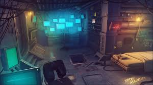 image result for cyberpunk room club feature 2017