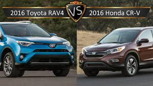 toyota rav vs honda crv 2016 toyota rav4 vs honda cr v by the numbers