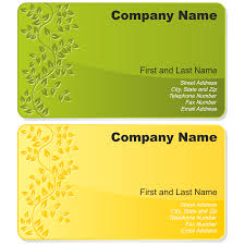 sample business card templates free download vector for free use floral business card set floral business card set business card template