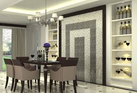 decorating dining room glamorous modern dining room wall decor