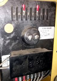 caterpillar voltage regulator adjustment pic attached