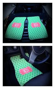 monogrammed car mats choose from 50 designs and colors on www