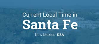 Where Is New Mexico On The Map by Current Local Time In Santa Fe New Mexico Usa