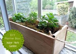 making herb planter box diy indoor herb planter box diy herb