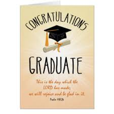 christian graduation greeting cards zazzle