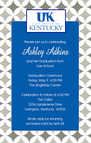 university of kentucky graduation invitation college pinterest