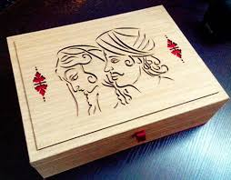laser cutting wedding card box manufacturer indelhi delhi india by