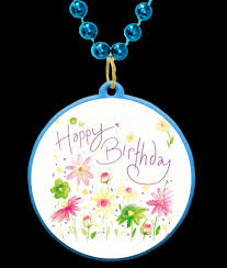 customized mardi gras happy birthday with a pretty floral theme customizable mardi gras