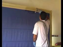Timber Blind Cleaning Dry Cleaning Of Roman Blind Avi Youtube